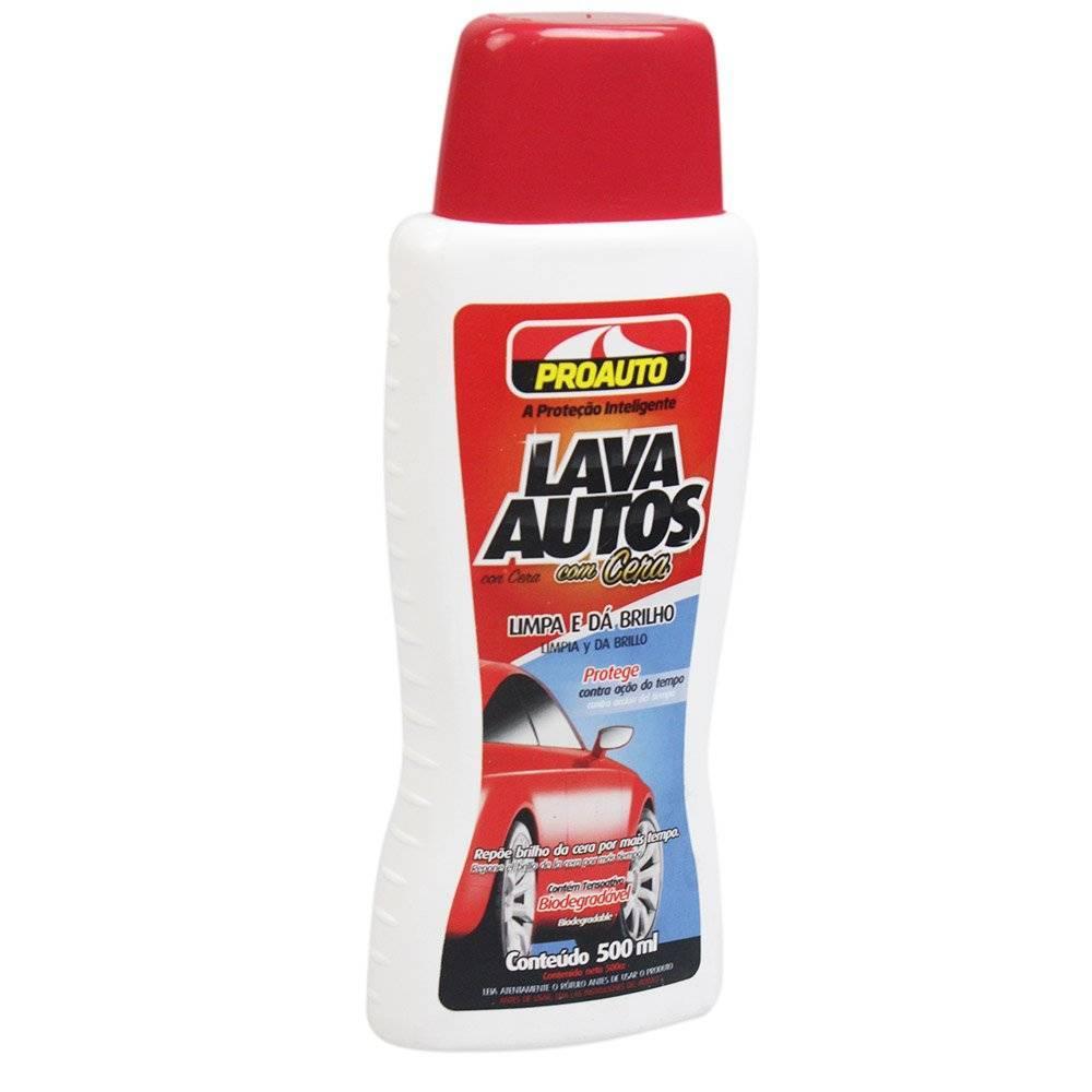 Shampoo Lava Autos Com Cera Proauto - Complete o Carro