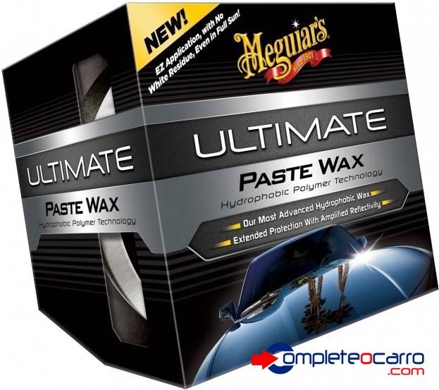 Cera Ultimate Pasta - Cera de alta performance - Kit c/ apli - Complete o Carro