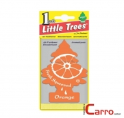 Aromatizante Little Trees Orange - Car Freshner
