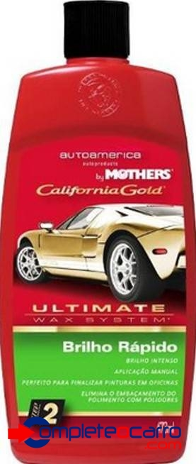 Brilho Rápido Sem Silicone - Ultimate Wax System Mothers 473