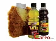 Kit Grand Car Lava Autos, Limpa Pneus, e Luva Luxo para Lava
