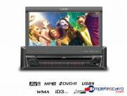 DVD Player Retrátil 7 Polegadas Touch Screen UCB Connect