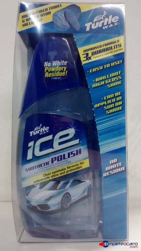 Cera Sintética Polidora Turtle Wax - Ice Synthetic Polish  - Complete o Carro