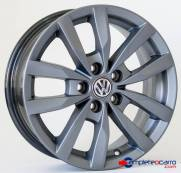 Jogo de Rodas VW Fox Prime Aro 15   Furacao 5x100   GF   R38