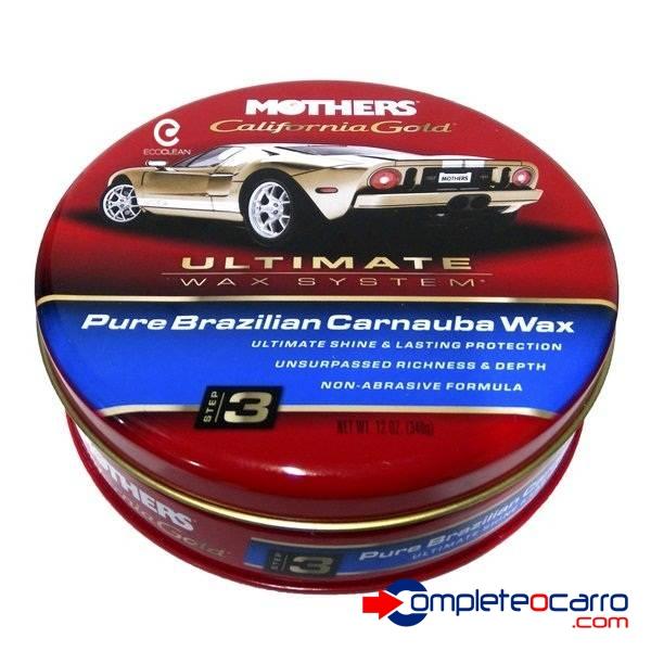 Cera Carnauba Pura - Califórnia Gold Pure Carnauba Wax Mothe - Complete o Carro