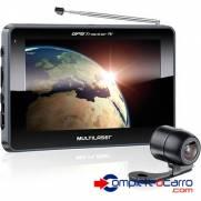 Navegador GPS Multilaser 43 c  TV  e Camera de re GP035