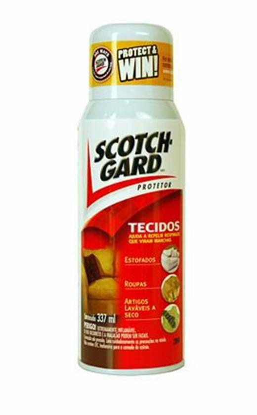 Impermeabilizante Scotch Gard 3M - Protetor de Tecidos