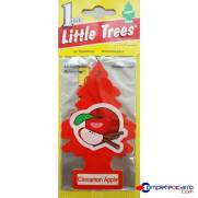 Aromatizante Little Trees - Maça com Canela - Car Freshner