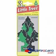 Aromatizante Little Trees - Black Forest - Car Freshner