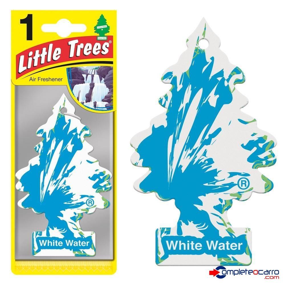 Aromatizante Little Trees - White Water - Car Freshner - Complete o Carro