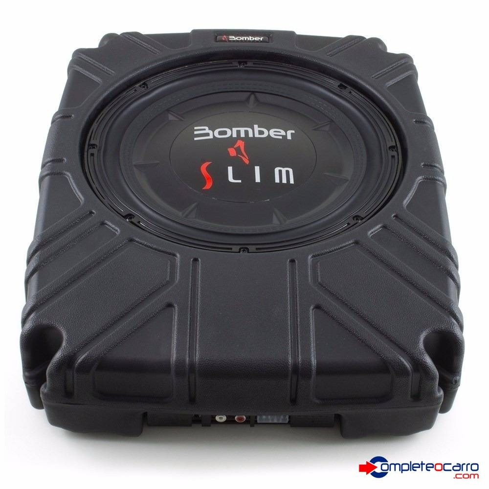 Subwoofer - Caixa Selada Slim 8' Bomber - 200W RMS