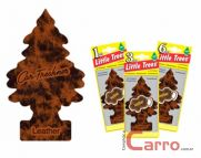 Aromatizante Little Trees - Couro - Car Freshner
