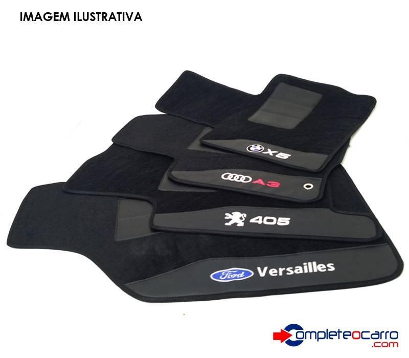 Jogo de Tapetes Personalizados GM - Prisma 2006/2007 - 4 PÇS - Complete o Carro