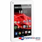 Tablet Multilaser M7s Branco Quad Core Android 44 Kit Kat Dual Camera Wi fi 7 8gb   Nb185