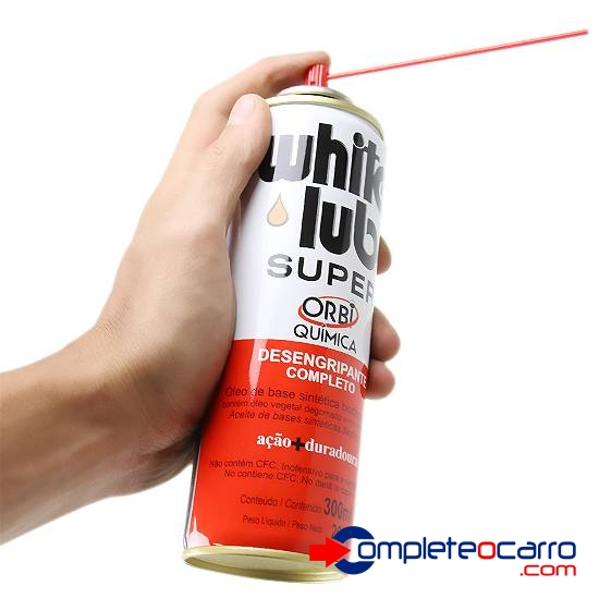 Desengripante Spray White LUB Super 300ml - Complete o Carro
