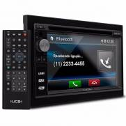 Central Multimidia 2 Din Touch Screen com Bluetooth UCB DM362BT