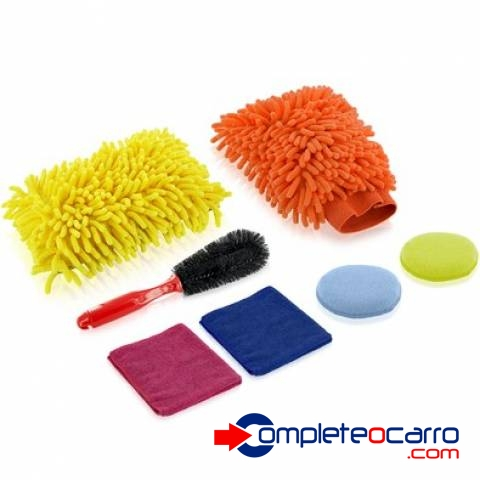 Kit de limpeza automotivo Multilaser AU324 - Complete o Carro