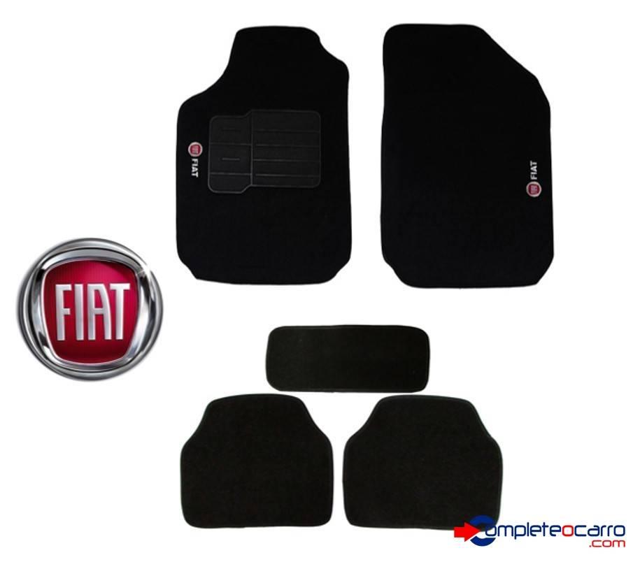 Tapete Ecológico Personalizado Universal Fiat   Preto C0010  - Complete o Carro