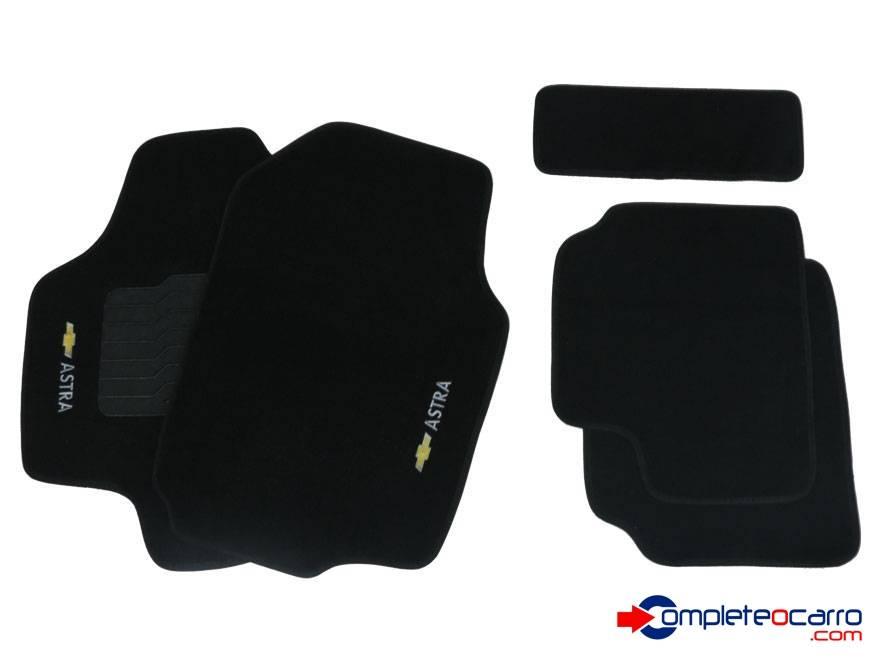 Tapete Ecológico Personalizado GM Astra 99/11 - Preto C0387 - Complete o Carro