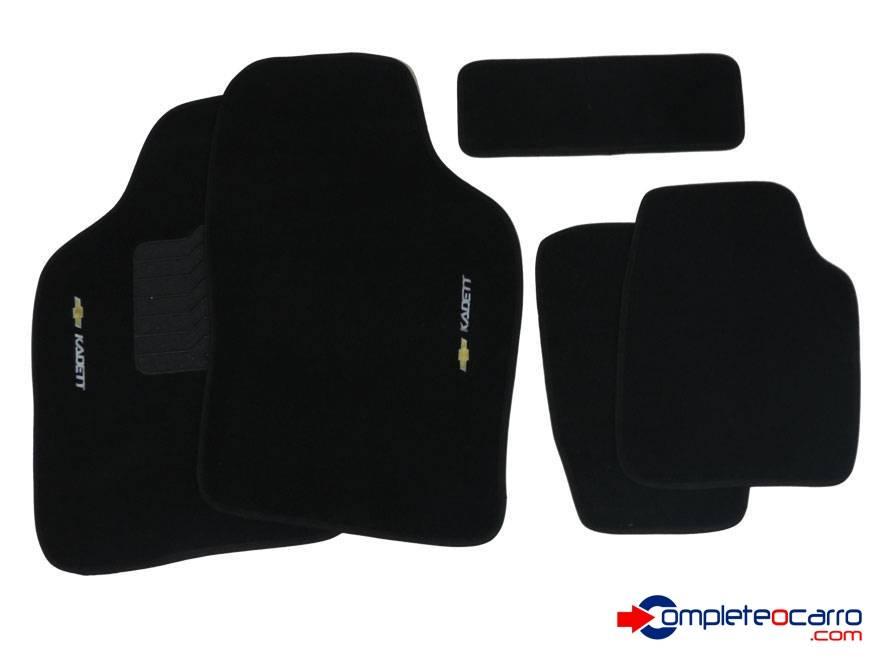 Tapete Ecológico Personalizado GM Kadett 89/98 - Preto C0411 - Complete o Carro