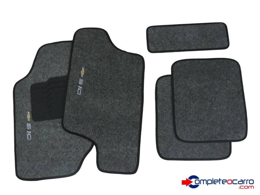 Tapete Ecológico Personalizado GM S10 CD 96/12 - Grafite C04 - Complete o Carro