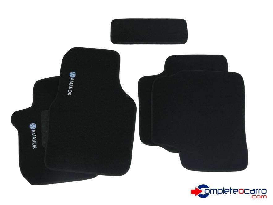 Tapete Ecológico Personalizado VW Amarok CD 10/... - Preto C - Complete o Carro