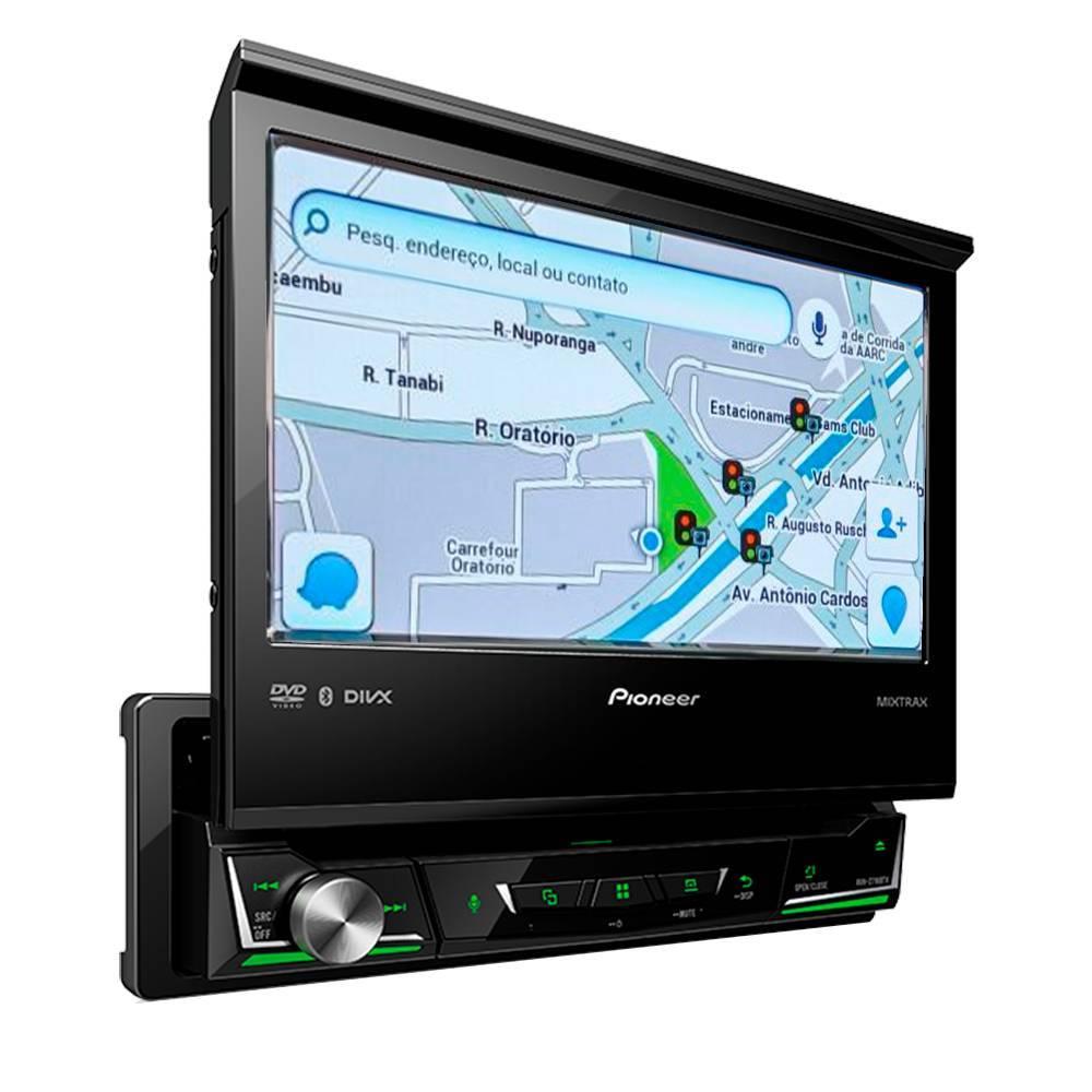 Dvd Player Pioneer Avh-Z7180tv - TV DIGITAL, BLUETOOTH, Waze - Complete o Carro