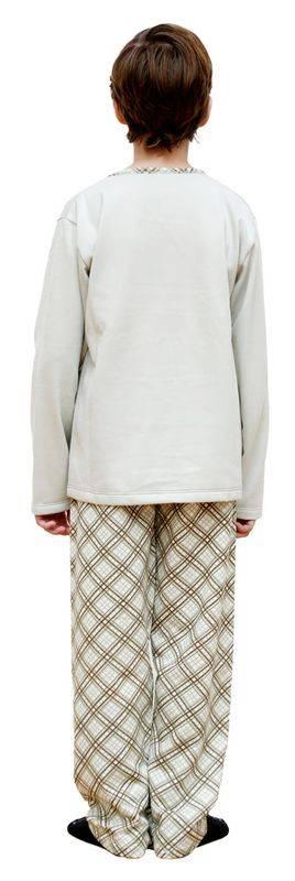 PIJAMA MANGA LONGA PELUCIADO FUTURE VERDE MENINO - Bons Sonhos Pijamas
