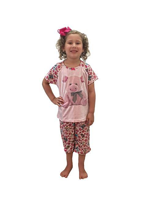 PIJAMA PESCADOR INFANTIL  - Bons Sonhos Pijamas