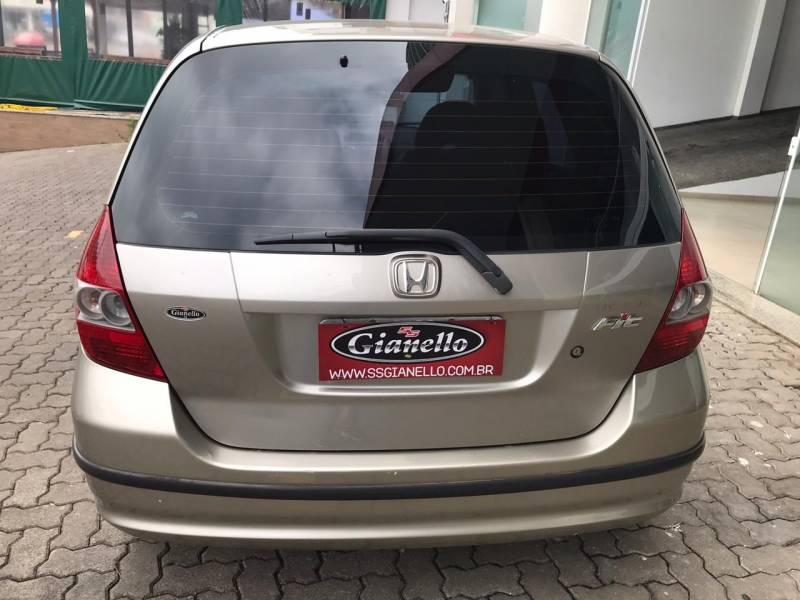 Honda Fit 1.4 8V LX 4P Manual Dourado