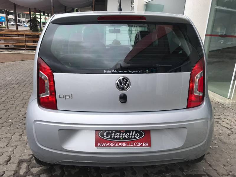 Volkswagen UP! 1.0 12V MPI Move Up Flex 4P Manual Prata