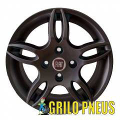 Roda Stilo Dualogic/ Aro: 14X6- Furação: 4X98 - Cor: Grafite Fosco ou Prata