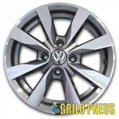 Roda Modelo Gol G6 / Aro: 15X6,0 - Furação: 4X100 - Cor: Grafite Diamantado