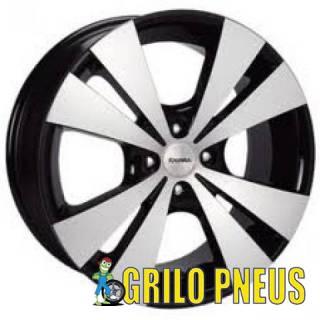 Roda Trevo/ Aro: 13X5,5 - Furação: 4X100 ou 4X108 - Cor: Pre