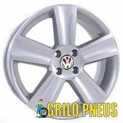 RODA MODELO SAVEIRO CROSS / ARO: 18 - FURAÇÃO: 4X100 ou 5x100 - COR: PRATA