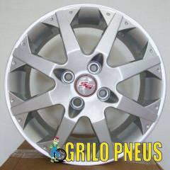 Roda Meriva SS / Aro: 15X6,0 - Furação: 4X100 - Cor: Prata