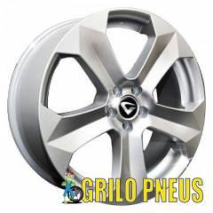 RODA MODELO LANIN (REPLICA BMW X6) / ARO: 18X7 - FURAÇÃO: 4X100 - COR: PRATA