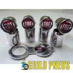 Kit Tampas da Válvula Anti Furto Fiat
