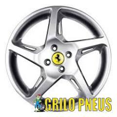 Roda Ferrari Rocket ZK500/ Aro: 15X6,0 - Furação: 4X100 - Cor: Prata