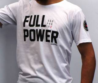 Camiseta Fullpower - SP Branca