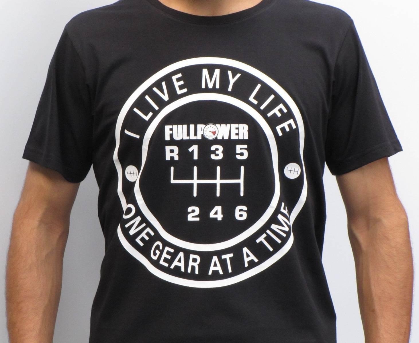 Camiseta Fullpower Gear - Preta P - Loja FullPower