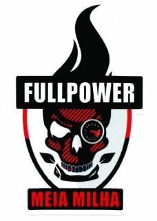 Adesivo Fullpower Meia Milha Caveira