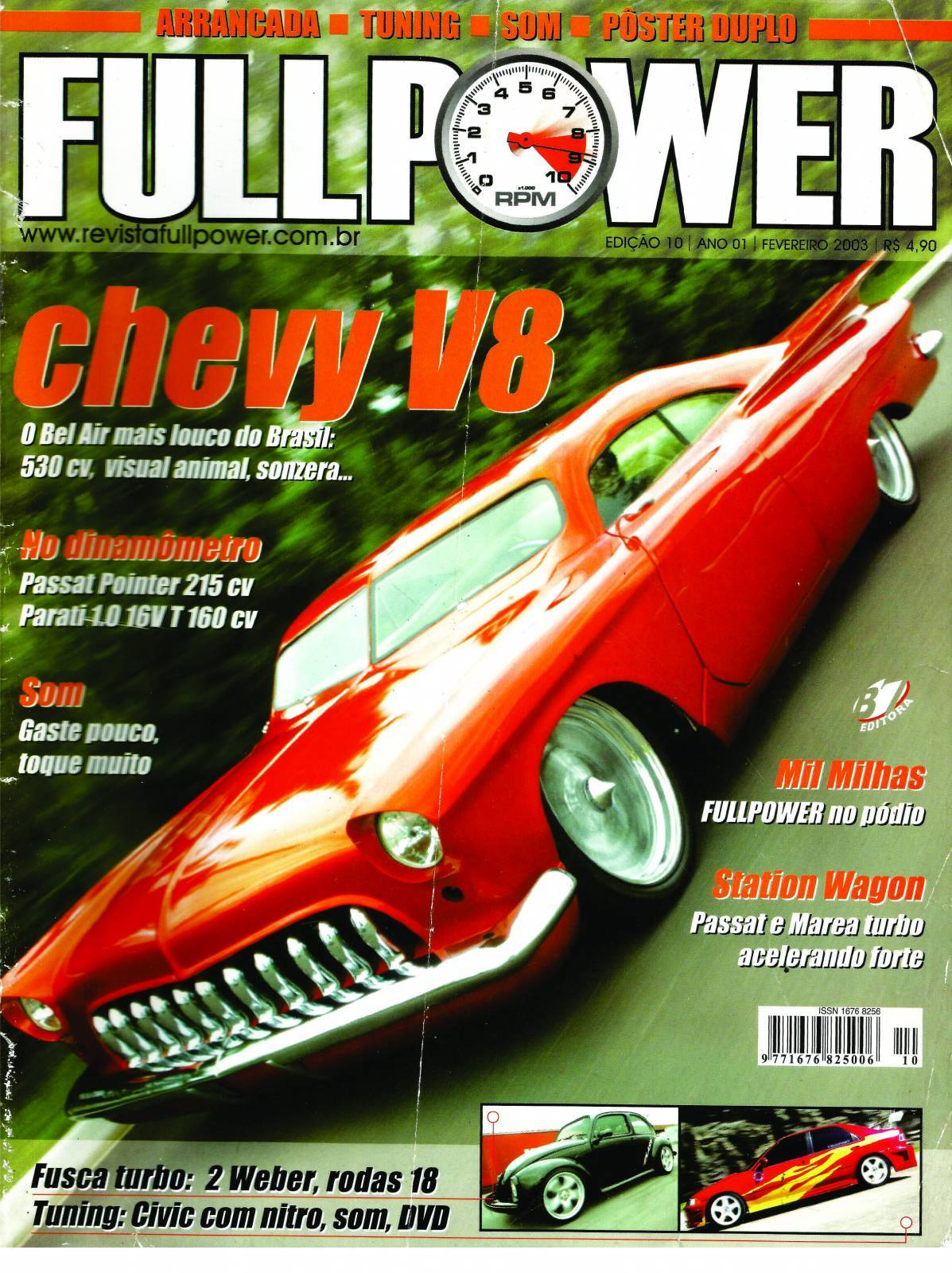 REVISTA FULLPOWER No. 10 ANO 2003 - Loja FullPower