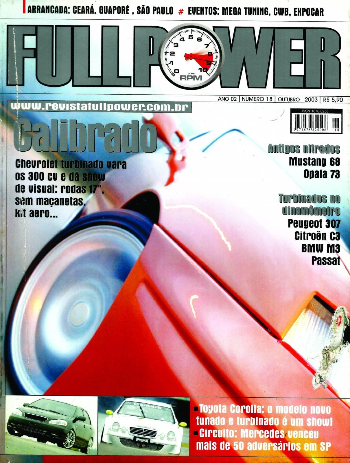 REVISTA FULLPOWER No. 18 ANO 2003 - Loja FullPower