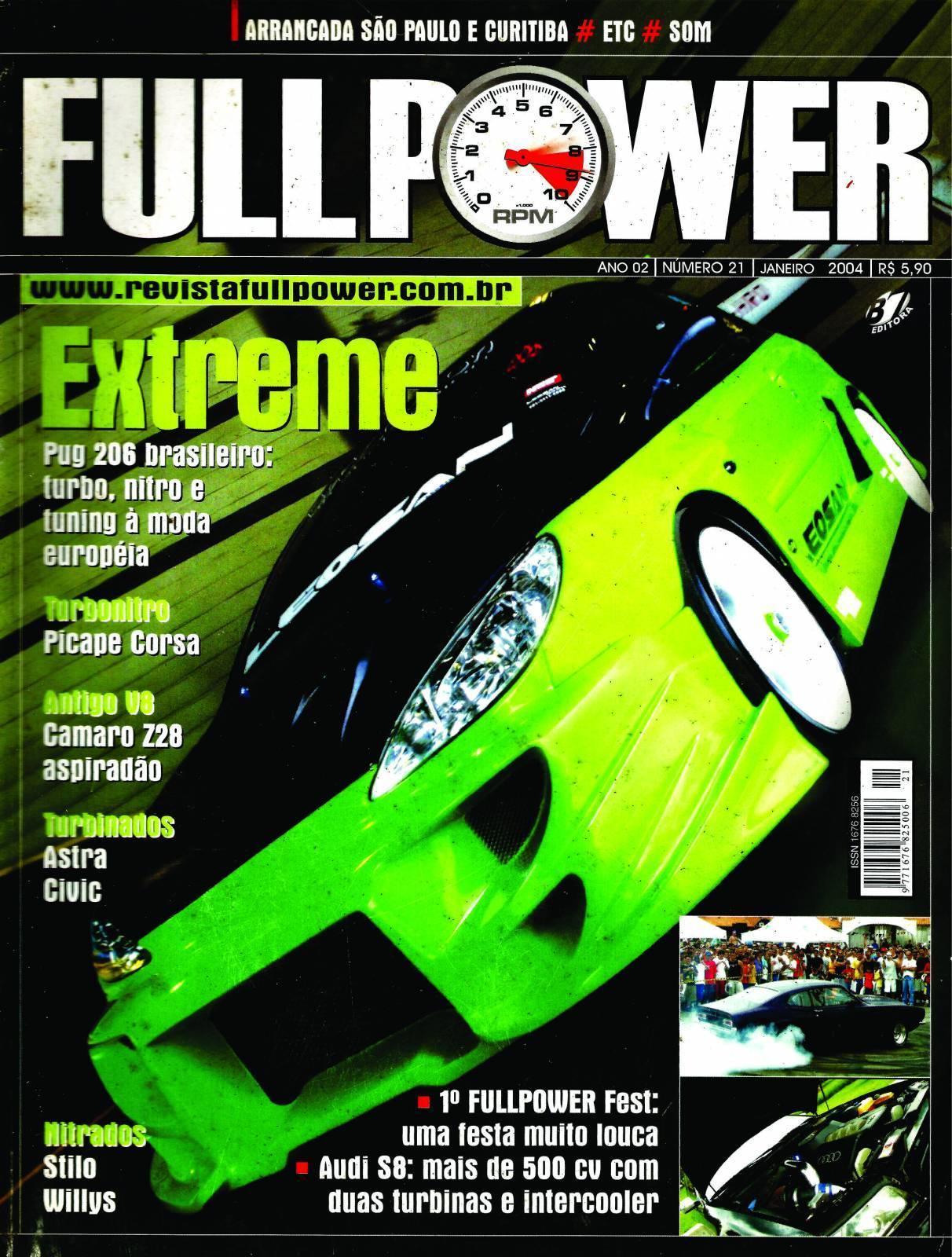 REVISTA FULLPOWER No. 21 ANO 2004 - Loja FullPower