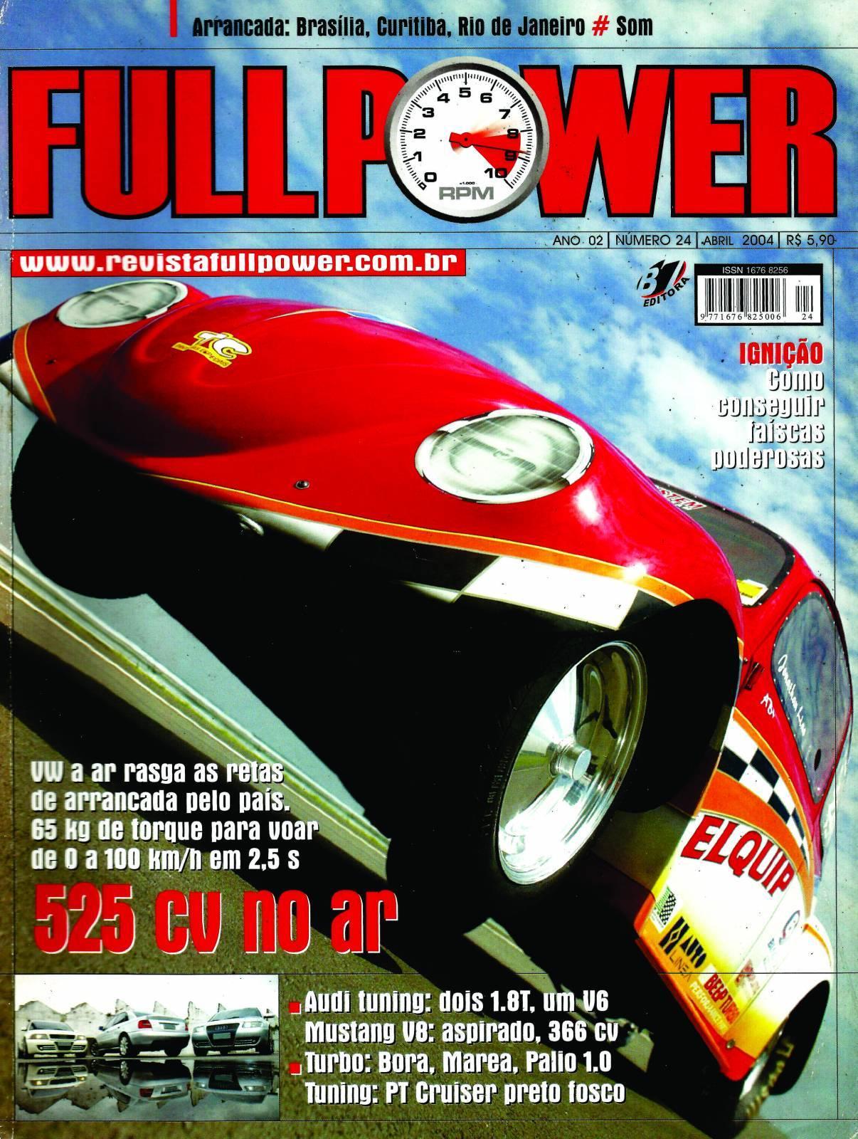 REVISTA FULLPOWER No. 24 ANO 2004 - Loja FullPower