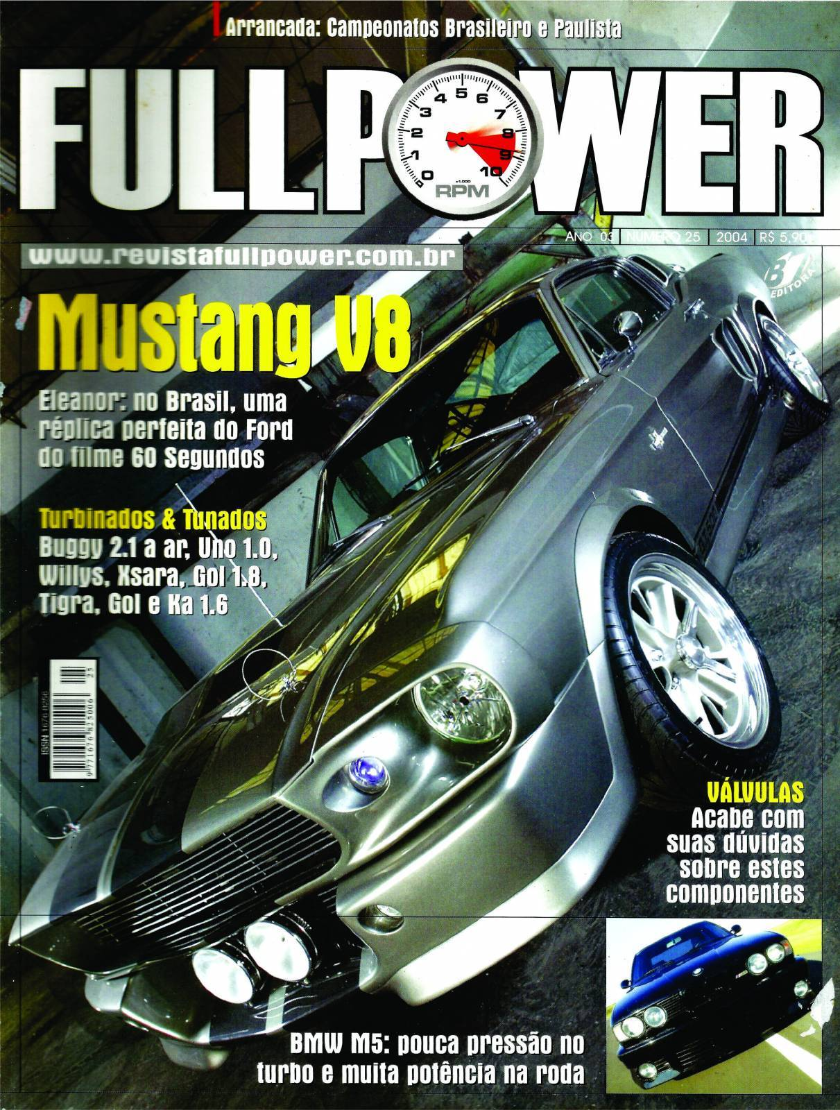 REVISTA FULLPOWER No. 25 ANO 2004 - Loja FullPower