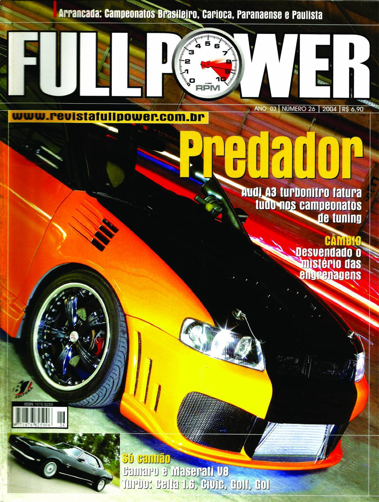 REVISTA FULLPOWER No. 26 ANO 2004 - Loja FullPower
