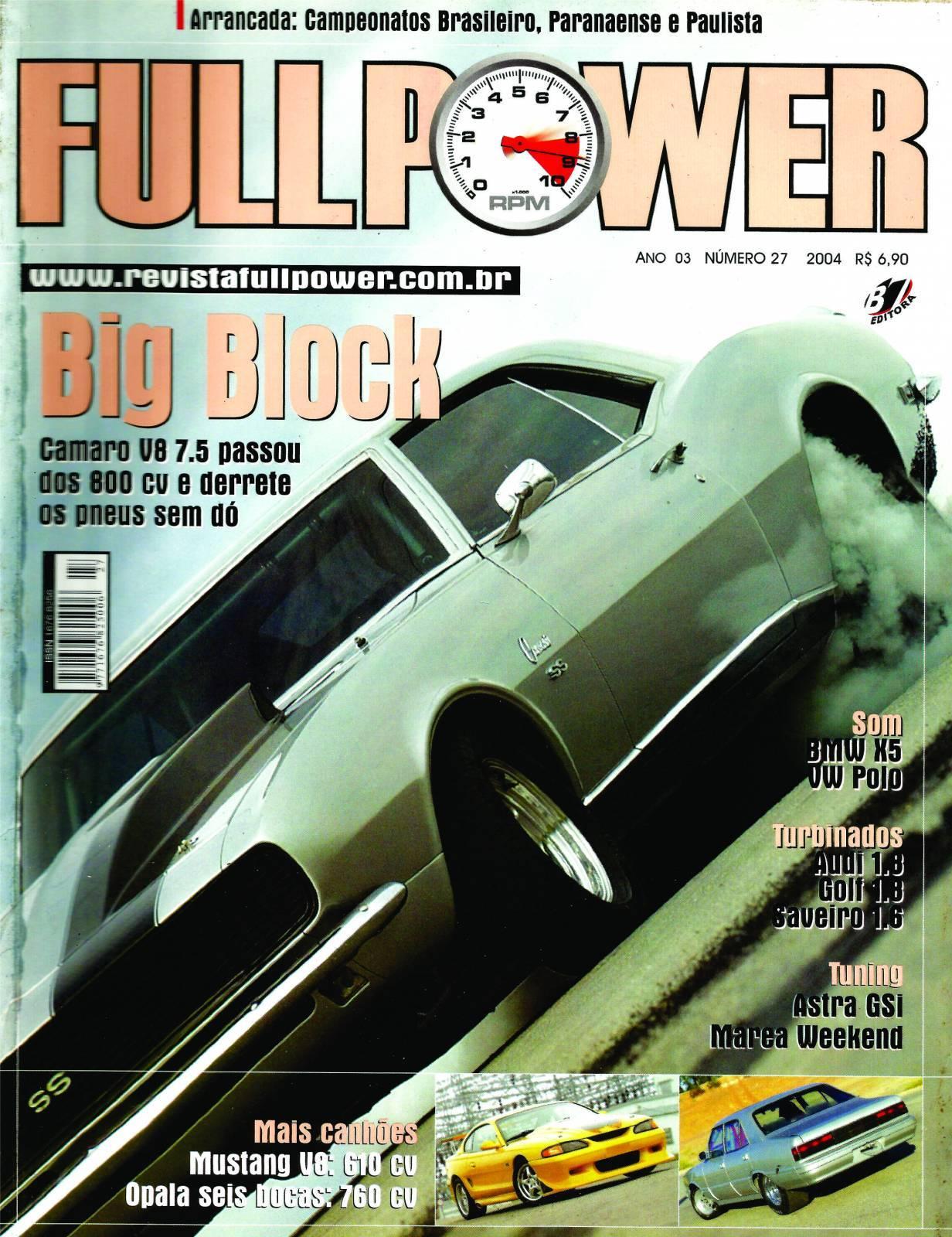 REVISTA FULLPOWER No. 27 ANO 2004 - Loja FullPower