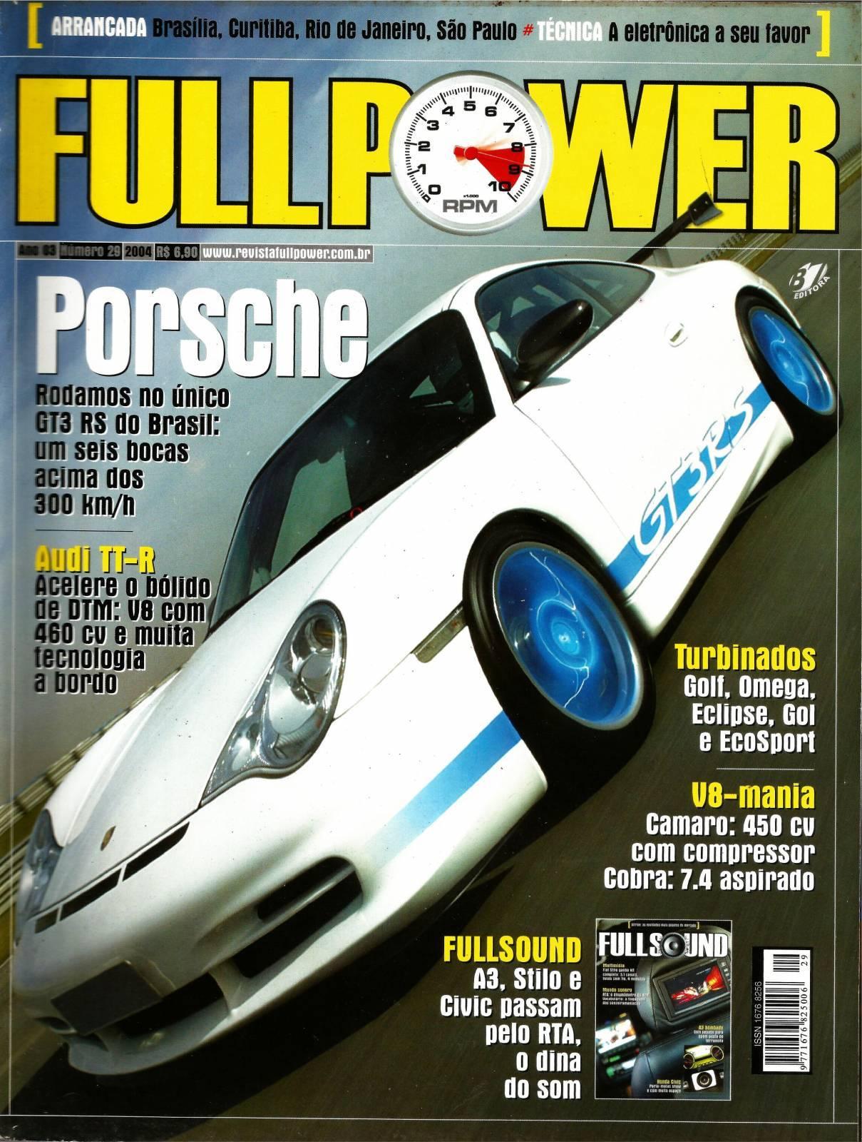 REVISTA FULLPOWER No. 29 ANO 2004 - Loja FullPower